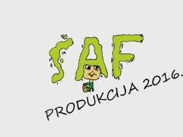 SAF PRODUCTION 2016