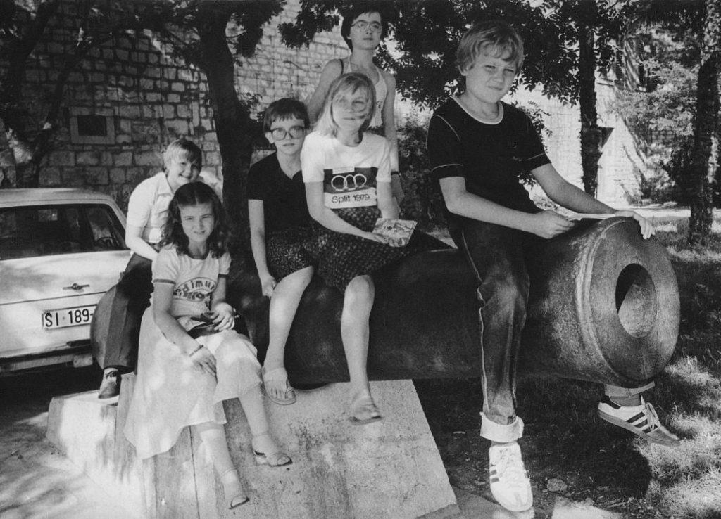 Na Reviji u Šibeniku (s lijeva: Robert Jambušić, Tatjana Turza,  Dunja Bubek, Vesna Prepelić, Tamara Laptuš, Nenad Glavak).
